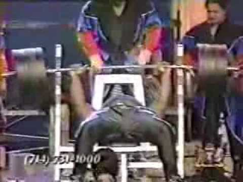Drug Tested Bench Press World Record Holder African