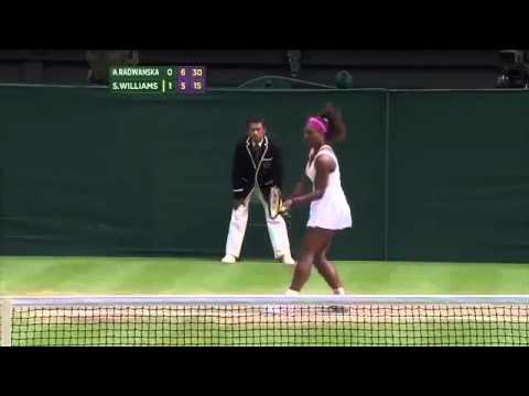 Wimbledon 2012 Final Highlights Serena Williams Wins Fifth Wimbledon Crown
