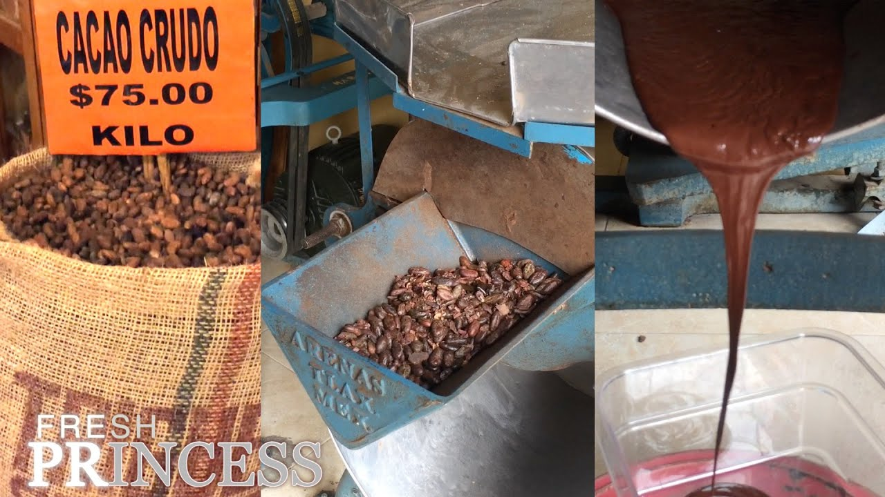 How to Make Chocolate from the Bean On