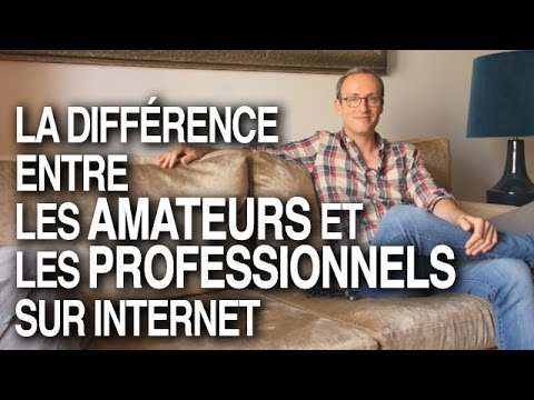 La diff rence entre les amateurs et les professionnels sur internet youtube - Difference entre pyrolyse et catalyse ...