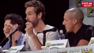 Brave New Warriors Comic Con Panel - Tom Mison, Freddie Highmore, Jon Bernthal, Theo Rossi