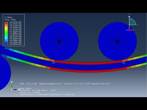 Abaqus Tutorial - How To Determine Surface Area In Contact/interacting Between Solids