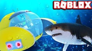 NEW Submarine Vs Shark Who Will Win | Roblox Sharkbite