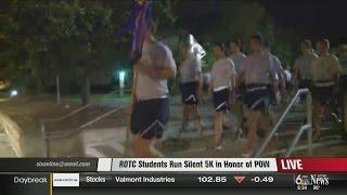 ROTC Students Honor Military POW/MIA
