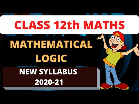 Discrete Mathematics|| Mathematical Logic in hindi || ||12th std Logic chapter || in hindi