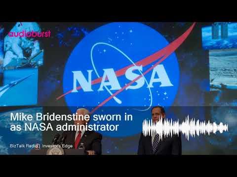 Mike Bridenstine sworn in as NASA administrator