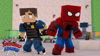 Minecraft: MENINO ARANHA - ENCONTRAMOS UMA ÁREA SECRETA! #31