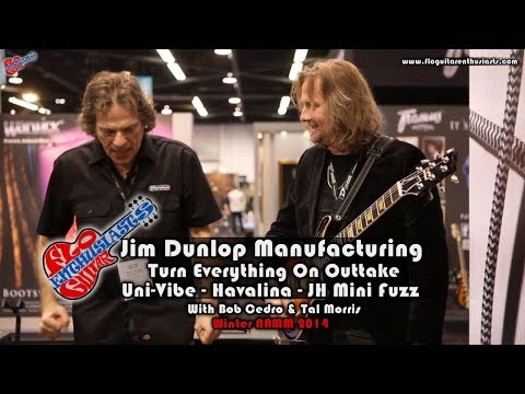 NAMM 2014: MXR Dunlop, Way Huge Havalina & Jimi Hendrix Mini Fuzz Shootout/Outtakes
