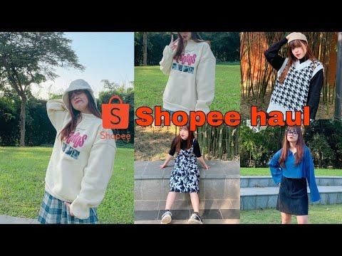 SHOPEE HAUL   Loạt quần áo mùa đông siêu xịn mịn ???