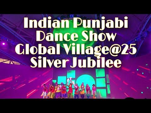 Indian Punjabi Dance show in Global Village 2020-2021 | Season-25  | Global Village Sliver Jubilee