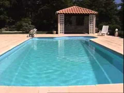 piscine provence polyester mega pool privil ge youtube. Black Bedroom Furniture Sets. Home Design Ideas