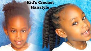 CROCHET BRAIDS FOR KIDS   FRENCH TWISTS