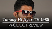 Tommy Hilfiger TH 1254 S 4JTEU - YouTube 41ab395811