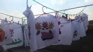 lavado y planchado de servilletas bordado fantasa