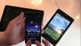 Asus PadFone Infinity + FonePad: Hands-On and First Impressions