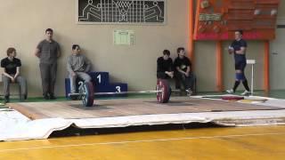 Клещев Дмитрий в\к 85 кг