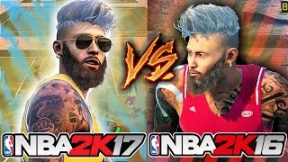 NBA 2K17 VS NBA 2K16!! THE GREATEST 2K OF ALL TIME!? WHICH IS BETTER!?