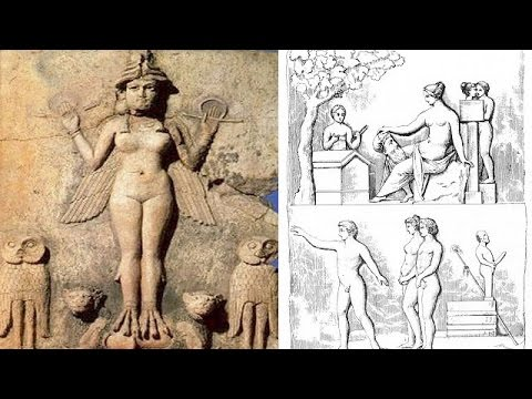 Mystery - The religious sex customs of ancient world History