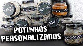 POTINHOS DE TEMPEROS PERSONALIZADOS