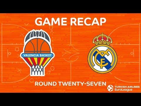 Highlights: Valencia Basket - Real Madrid
