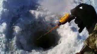 Зимняя ловля щуки на Байкале