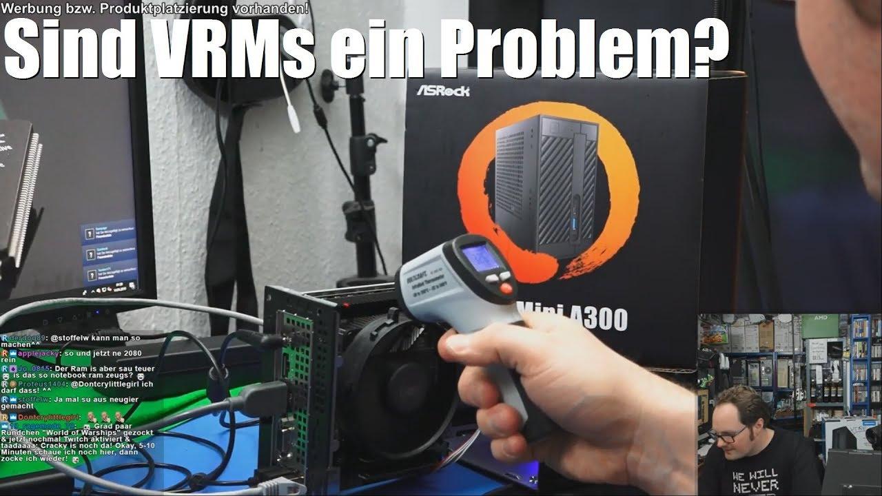 ASRock DeskMini A300 + Ryzen 5 2400G - VRM Temperaturen?