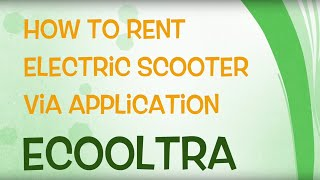 Gambar cover How to rent electric scooter via Ecooltra