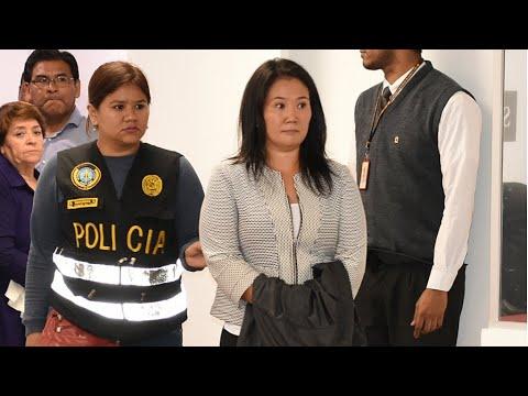 Peru arrests opposition leader Keiko Fujimori in corruption probe