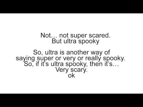 Being Scared » Elementary » Englishpod