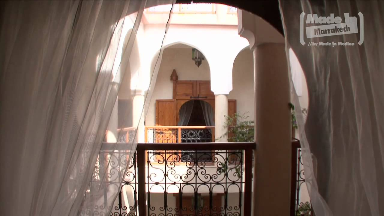 riad couleurs du sud by made in marrakech youtube. Black Bedroom Furniture Sets. Home Design Ideas