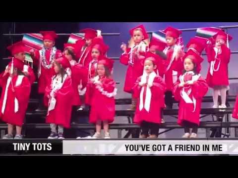 2019 Tiny Tots Preschool Graduation & Performances: I'm Ready to Go, Dynamite,  Baby Shark