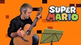 Super Mario Bros - Fingerstyle Guitar - Frédéric Mesnier