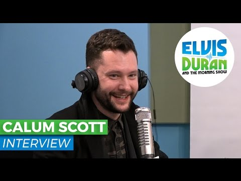 Calum Scott Discusses 'Britain's Got Talent' + First Time in the USA | Elvis Duran Show