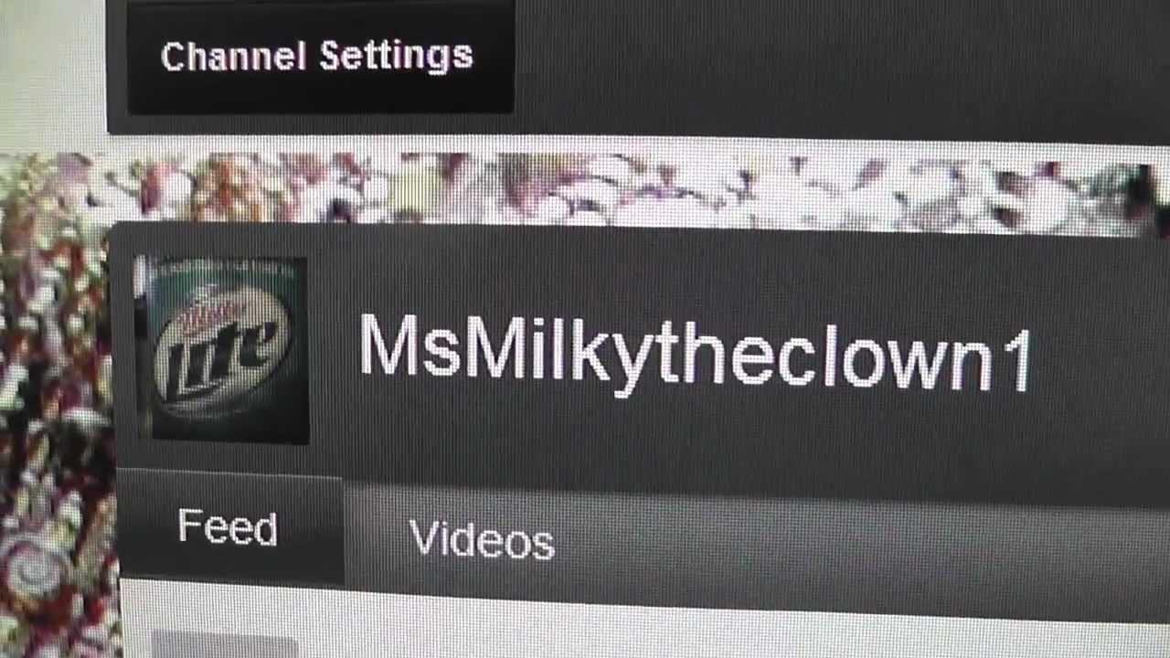Msmilkytheclown Moving To Msmilkytheclown1 For Fukushima Updates On Youtube
