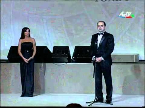 Qızıl Çinar Beynəlxalq mükafatı - Dr. Rəşad Mahmudov (10.05.2009 ...