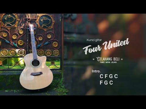 Kunci Gitar Four United - Gelahang Beli