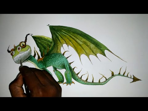 Speed Drawing Boneknapper, How to Train Your Dragon | Doovi