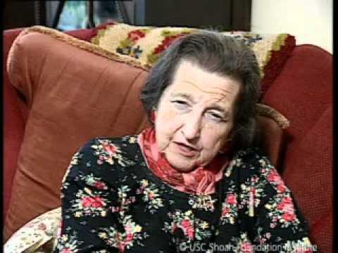 Jewish Survivor Annie Perrez Testimony