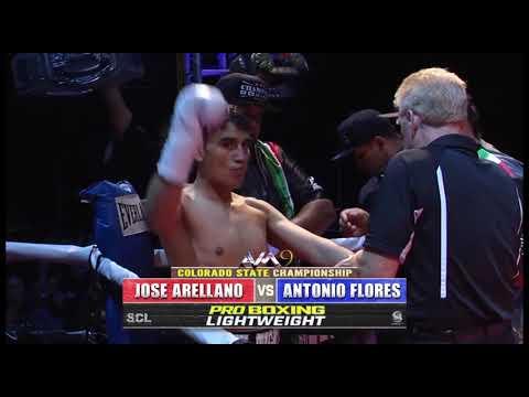 AVM9 BOXING Jose Arellano vs Antonio Flores