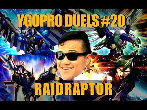 YGOPro RAIDRAPTOR Deck - Wing Raiders Support Build! Yugioh