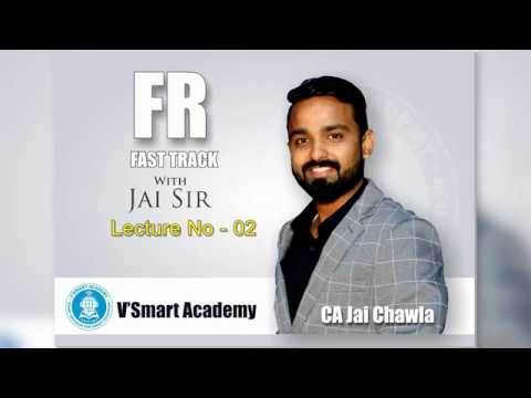 Demo02| CA Final Financial Reporting FR Fast Track Full Course | Videos New Syllabus | CA Jai Chawla