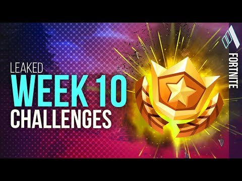 "Week 10 Challenges ""LEAKED"" ALL Week 10 Challenges 