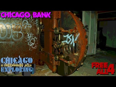 Exploring an Abandoned Chicago Bank (Huge Vault!)