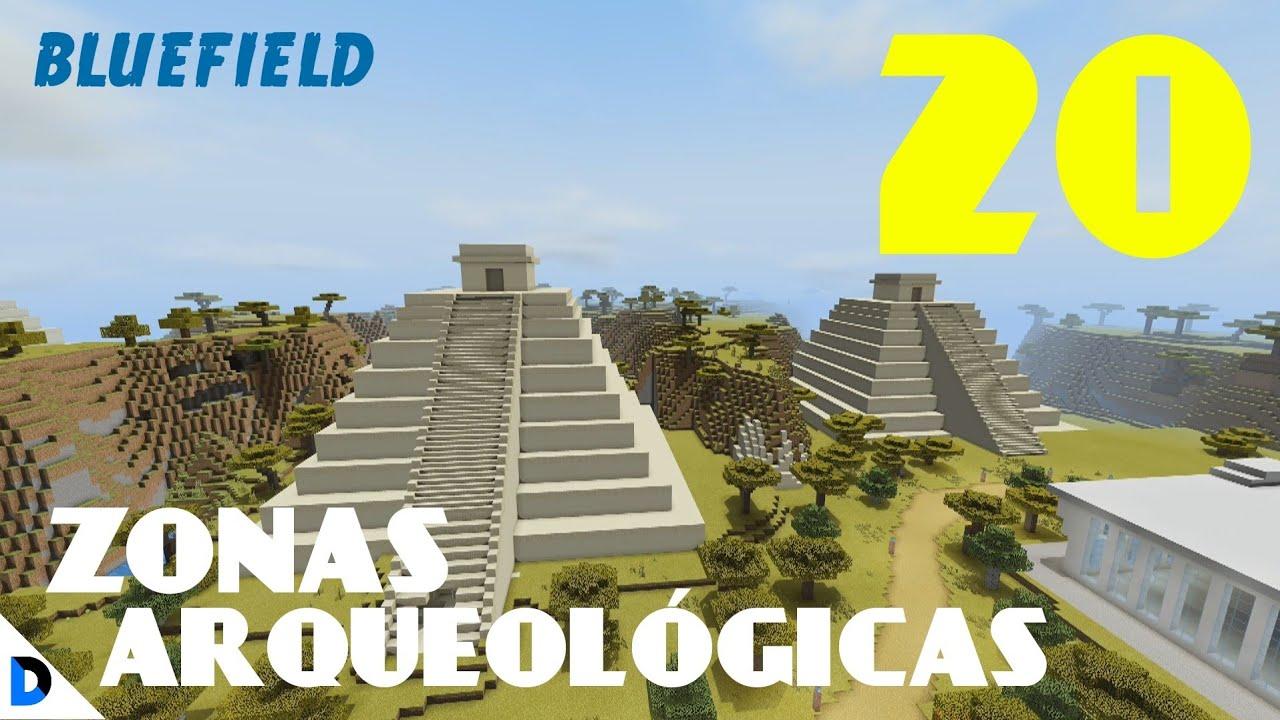 CONSTRUYENDO MI CIUDAD EN MINECRAFT #20 - ZONA ARQUEOLÓGICA - DIVANJM03