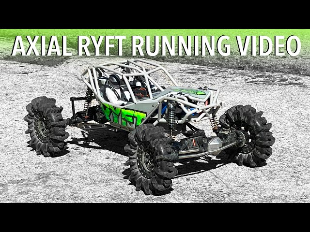 AXIAL RYFT RAMPAGE RUN