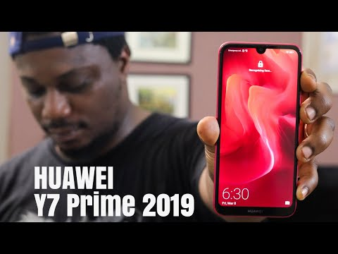 Huawei Y7 Prime 2019 Unboxing and Initial Thoughts