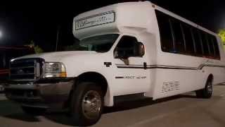 22 Passenger Party Bus Rental - Best Party Buses - Price 4 Limo