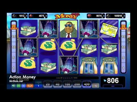 Action Money - A man with the corner office, the limousine and the gold credit card