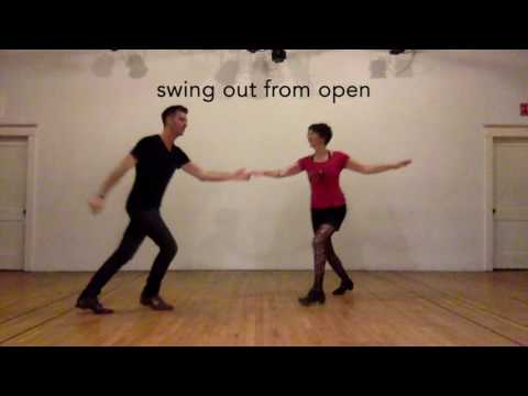 Intro to Swing - basic patterns in 8-count for Lindy hop