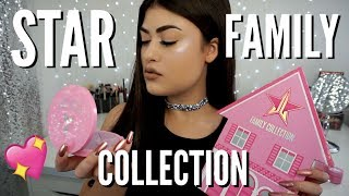 STAR FAMILY COLLECTION - Jeffree Star Cosmetics Review & Swatches!
